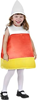 Top Trims Girls Candy Corn Costume