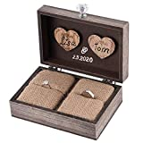 Best HSG Wedding Rings - Y&K Homish Wedding Ring Box Unique and Engagement Review