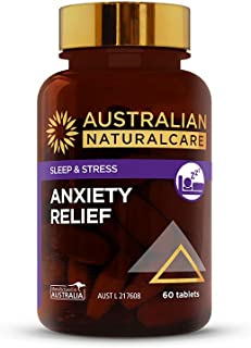 Australian NaturalCare - Stress Support - Anxiety Relief Tablets (60 Count)