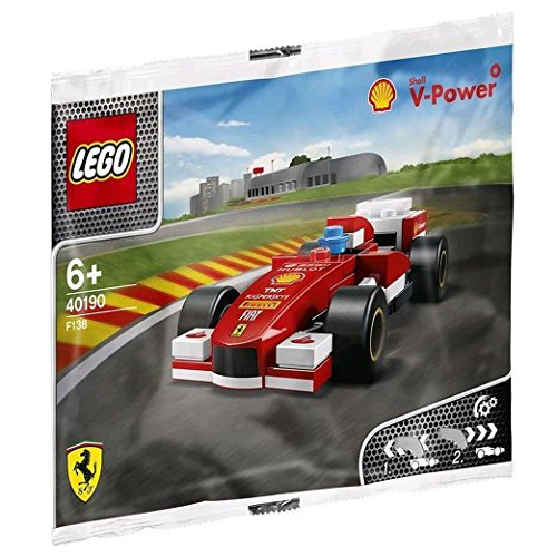 Lego 2014 New Shell V-power Collection Ferrari F138 40190 Exklusive versiegelt