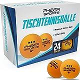 Palle da ping-pong Premium 3 stelle [24 pezzi] Arancione - Caratteristiche di gioco perfet...