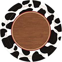Amscan 541892 Table Needs, Yeehaw Round Plates Party Supplies, 7