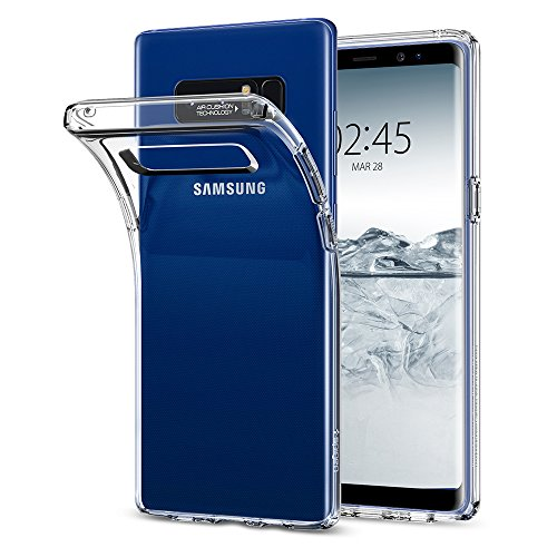 Spigen Samsung Galaxy Note 8 Hülle, [Liquid Crystal] Transparent Passexakt Durchsichtige Schutzhülle für Samsung Note8 Hülle Hülle Crystal Clear
