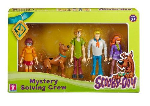 Scooby Doo Mystery Solving Crew Figurenset