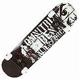 LangCher Skateboard Skateboards Pro 31'x 8' Double Kick Deck Planches à roulettes complètes pour débutants Filles Garçons Enfants Adultes Adolescents Maple Cruiser Trick Planche à roulettes en Bois
