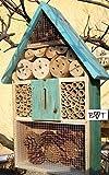 BTV Hôtel à insectes taille XXL en bois Coloris variés