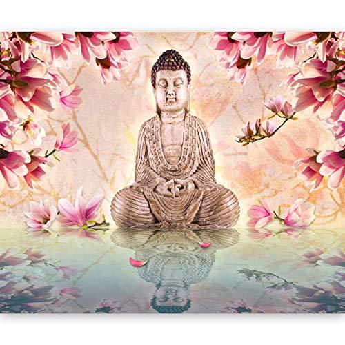 murando Papier peint intissé 50x39 cm Décoration Murale XXL Poster Tableaux Muraux Tapisserie Photo Trompe l'oeil Buddha 10040907-48