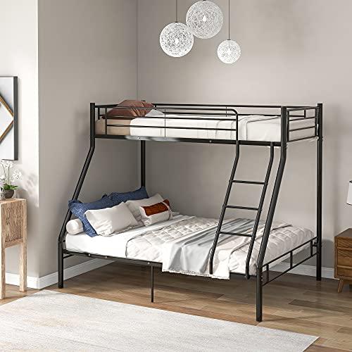 Literas de metal, marco de cama triple de metal de 91 cm individual y 10 cm de matrimonio, 3 dormilones para adultos niños, adolescentes, litera para habitación de niños, dormitorio, dormitori