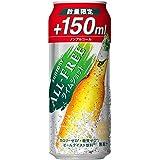 【増量でお買い得】オールフリー ライムショット 増量缶 [ ノンアルコール 500ml×24本 ]
