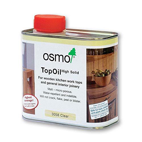 Osmo-TopOil 3058 Farblos Matt 0,500 L