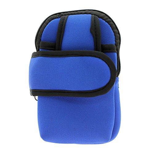 Cyclisme Sport extérieur bras Holder Sac pour Iphone ?Color:Blue?