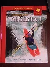 Best mcdougal littell algebra 1 teacher's edition Reviews