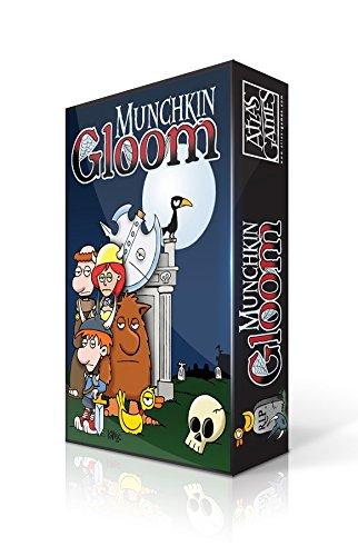 Atlas Games ATG01333 - Munchkin Gloom, Kartenspiel