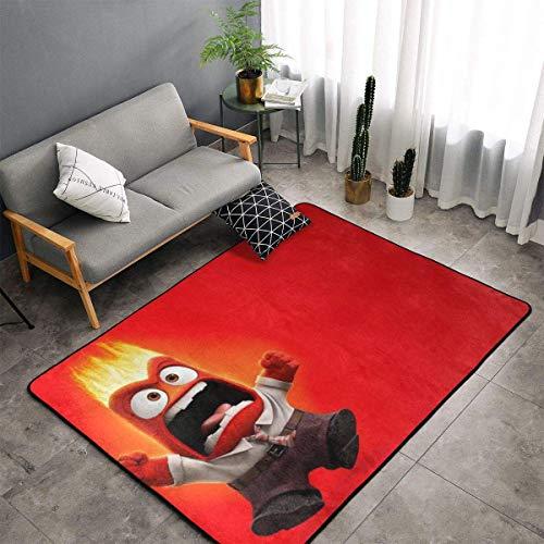 haoqianyanbaihuodian Mind Agent - Alfombra para dormitorio, camping, suave, para niños, niñas, guarderías, hogar, habitación cómoda y duradera, alfombra de poliéster de 156 x 95 cm