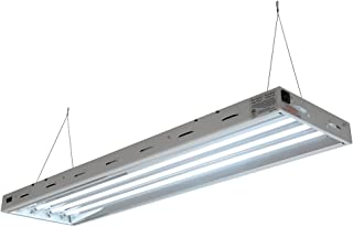 Sun Blaze T5 Fluorescent - 4 ft. Fixture   4 Lamp   120V - Indoor Grow Light Fixture for Hydroponic and Greenhouse Use