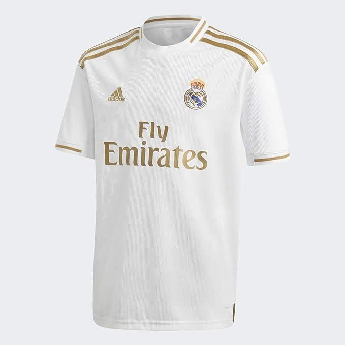 Adidas Real H Jsy Y Camiseta, Unisex Niños