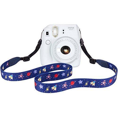 Elvam Camera Neck Shoulder Strap Belt for Women/Men Compatible with DSLR/SLR/DC/Instant Camera/Portable Printer/Phone Case, A