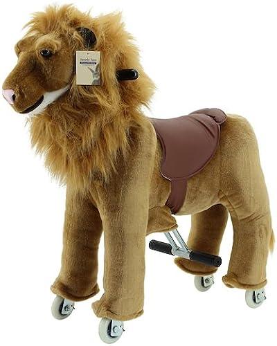 Sweety Toys 7400 Reittier L  auf Rollen für 3 bis 6 Jahre -RIDING ANIMAL