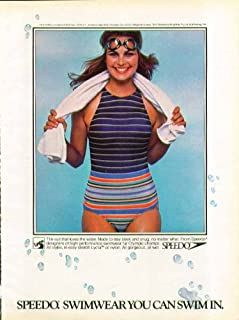 ebb2b5ab669 The suit that loves the water Speedo Swimwear you can swim in swimsuit ad  1979