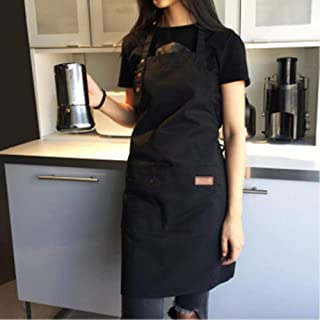 Apron,Halter Adult Apron Anti-Dirty Cotton Material Kitchen Adult Cooking Dress Home Decoration Cleaning Tools,Home Kitche...