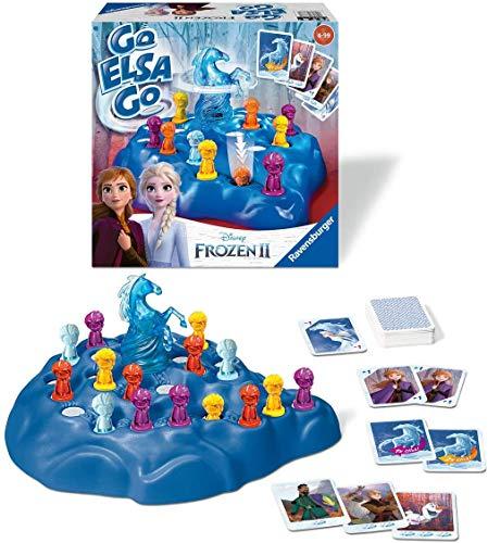 Ravensburger Kinderspiele 20425 - Disney Frozen 2 Go Elsa Go