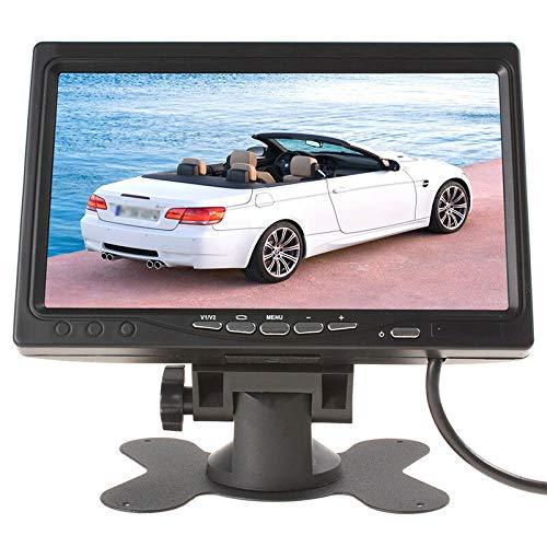 "ELECTROPRIME 7"" Ultra-Wide Color Full HD 800 * 480/1024 * 600 Backup Camera DVD Monitor"
