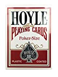 Hoyle Standard Poker Playing Cards Red or Blue 1 Deck