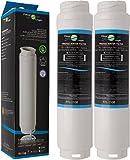 2x FilterLogic FFL-110B Filtro acqua compatibile con 3M UltraClarity 00740560 , 740560 / 644845 per BOSCH SIEMENS NEFF MIELE HAIER Hotpoint Ariston frigoriferi – Ultra Clarity 9000733786 VIB-Z4500W0