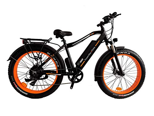PowerMax Ebike 'Super Fast 1000W EBIKE with High Performance 48V Lithium ion Battery. Best ebike for City, Beach and Mountain Adventures. Most Powerful Fat Tire ebike in 2020.