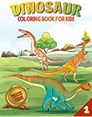 Dinosaur Coloring Book for Kids: Triassic Period (Book 1)