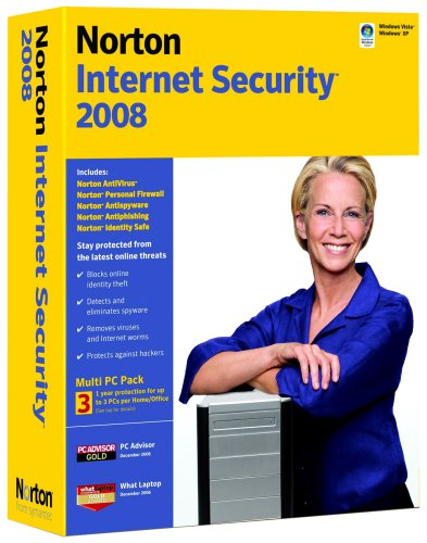 Norton Internet Security 2008 (5 User licence) Small Office Pack, Upgrade Edition [import anglais]