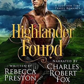Highlander Found: A Scottish Time Travel Romance  cover art