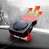 Car Heaters Portable,Car Heater That Plugs into Cigarette Lighter Car Defroster Car Defogger Car Heater 12v for Automobile Heating/Cooling.