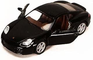 Kinsmart Porsche Cayman S, Black 5307D - 1/34 scale Diecast Model Toy Car, but NO BOX