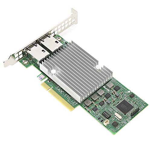 10GbE Network Card, with 2.0 RJ45 2 Port Expansion Card, for Supermicro AOC X540-AT2 AOC-STG-I2T