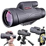 ANQILAFU 12x50 HD単眼鏡 スマートフォンホルダー付き
