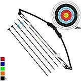 Funtress 35' Junior Arco Compound Archery Set con 4 frecce per Giovani Bambini
