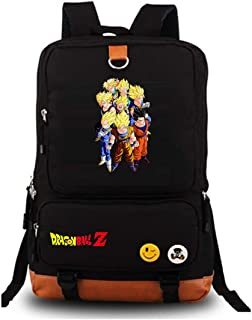 Siawasey Anime Dragon Ball Z Cosplay Goku Backpack Daypack Bookbag Laptop School Bag Shoulder Bag