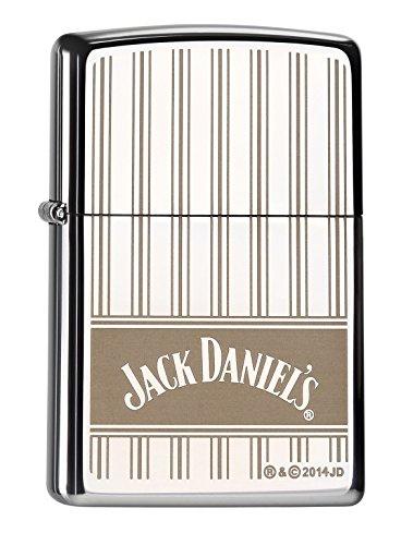 Zippo 60.000.223.1 Mechero de Jack Daniel\'s plus de repuesto de-la mecha, Zippo Collection 2015, cromo pulido