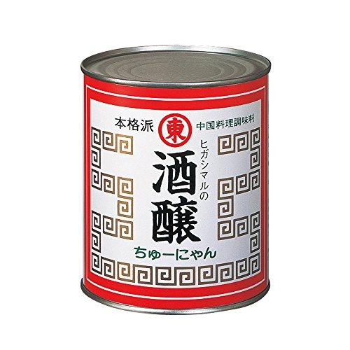 【常温】 ヒガシマル醤油 酒醸 ( チユウニャン ) 2号缶 900g 業務用 酒醸