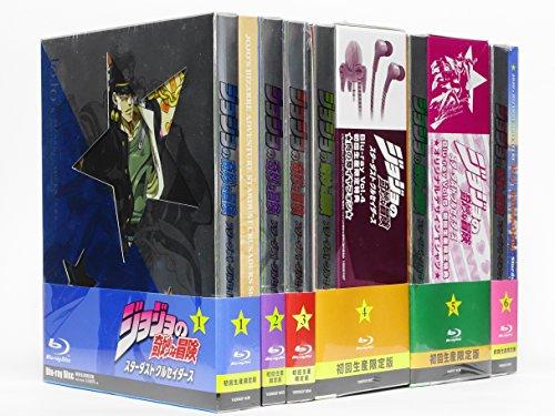 ジョジョの奇妙な冒険スターダストクルセイダース(初回生産限定盤)全6巻[マーケットプレイスBlu-rayセット]