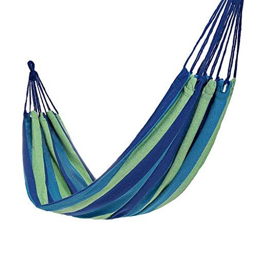Hamacs Voyage Portable Couleur Bleue Bande intérieure Suspendue Feuilles Personnes en Plein air Jardin et Patio (Size : 80cm/31.5inch)