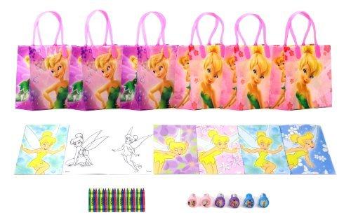 Disney Tinkerbell Party Favor Set - 6 Packs (42 Pcs) by GoodyPlus