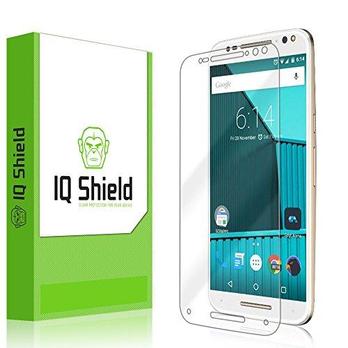 IQ Shield Screen Protector Compatible with Motorola Moto X Pure Edition (Moto X Style) LiquidSkin Anti-Bubble Clear Film
