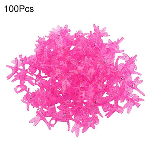 100 Stks Plant Orchidee Clips Draagbare Daisy Tuin Bloem Plant Ondersteuning Clips Lichtgewicht Connect Planten Gadget Tuin Gereedschap