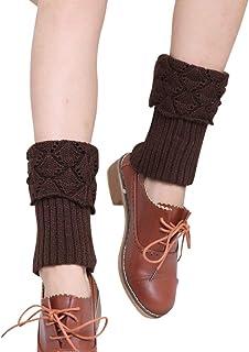 comprar comparacion Mengmiao Calentadores de Pierna de Mujer Calcetines de Bota de Punto
