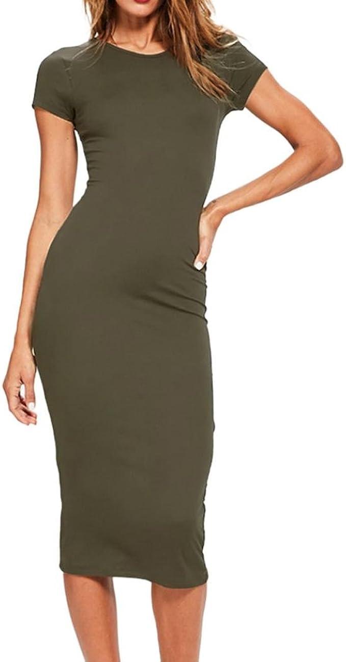 Mrulic Neu Lange Abendkleider Kleid Lassige Abendgesellschaft Figurbetontes Kleid Innenkleid Amazon De Bekleidung