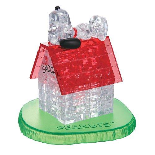 Bepuzzled 3D Crystal Puzzle Casa de Snoopy