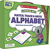 Learning Mats : Match, Trace & Write the Alphabet Name the letters of the alphabet Recognize and match uppercase and lowercase letters Write uppercase and lowercase letters Identify beginning consonant sounds