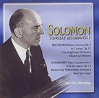 Solomon Concert Recordings 1: Beethoven Piano Concerto no.3 in C minor, Op. 37 & Tchaikovsky Piano Concero No. 1 in B flat minor, Op. 23 (2003-05-03)